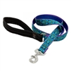 "LupinePet 1"" Rain Song 4' Padded Handle Leash"