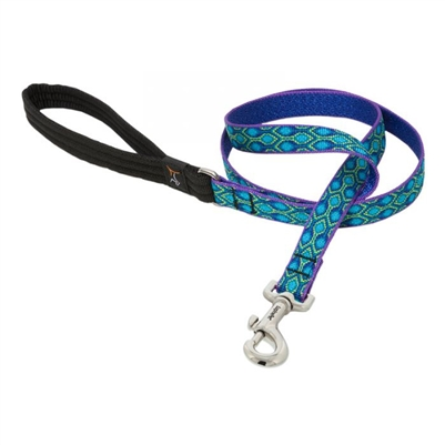 "Lupine 3/4"" Rain Song 4' Padded Handle Leash"