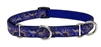 "Retired Lupine Starry Night 10-14"" Combo/Martingale Training Collar - Medium Dog"
