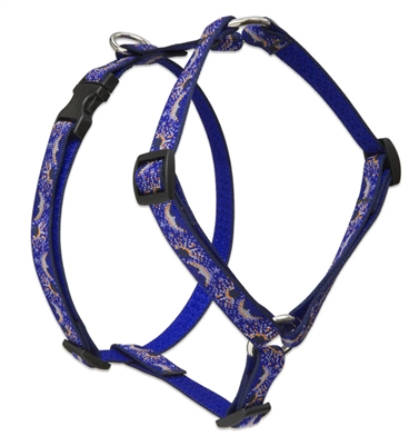 "Retired Lupine Starry Night 20-32"" Roman Harness - Medium Dog"