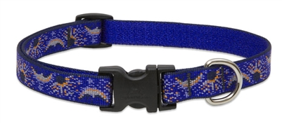 "Retired Lupine 3/4"" Starry Night 9-14"" Adjustable Collar"