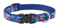 "Retired Lupine Super Star! 15-25"" Adjustable Collar - Medium Dog"
