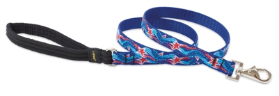 "Retired Lupine 3/4"" Super Star! 6' Padded Handle Leash"