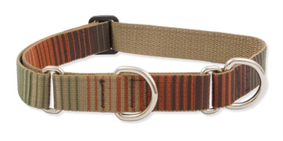 "Retired Lupine Terra Cotta 19-27"" Combo/Martingale Training Collar - Large Dog"