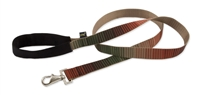 Retired Lupine Terra Cotta 4' Long Padded Handle Leash - Large Dog