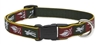 "Retired Lupine Trail Mix 12-20"" Adjustable Collar - Medium Dog"