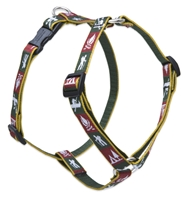 "Trail Mix 14-24"" Roman Harness - Medium Dog"