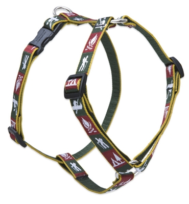 "Retired Lupine Trail Mix 14-24"" Roman Harness - Medium Dog"
