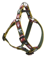 "Retired Lupine Trail Mix 15-21"" Step-in Harness - Medium Dog"