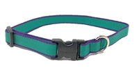 "Retired Lupine TLS Green (Trimline Solid) 15-25"" Adjustable Collar - Medium Dog"