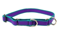 "Lupine 3/4"" Trimline Solid Purple 14-20"" Martingale Training Collar"