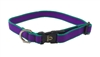 "Retired Lupine Trimline Solid Purple 15-25"" Adjustable Collar - Medium Dog"