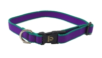 "Retired Lupine 3/4"" Trimline Solid Purple 15-25"" Adjustable Collar"