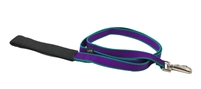 Retired Lupine TLS Purple (Trimline Solid) 4' Padded Handle Leash - Medium Dog