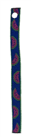 "Retired Lupine 1/2"" Watermelon Bookmark - Includes Matching Tassel"