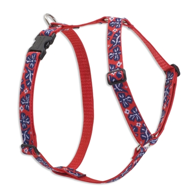 "Retired Lupine 1"" Wave Hound 24-38"" Roman Harness"