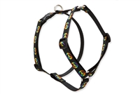 "Retired Lupine Woofstock 12-20"" Roman Harness - Medium Dog"