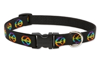 "Woofstock 9-14"" Adjustable Collar-Medium Dog"