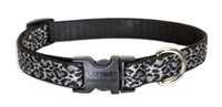 "Wild Thing 15-25"" Adjustable Collar-Medium Dog"