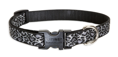 "Retired LupinePet Wild Thing 15-25"" Adjustable Collar - Medium Dog"