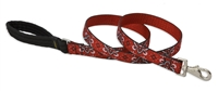 "Retired Lupine 1"" Wild West 4' Long Padded Handle Leash"
