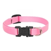 "Lupine 1/2"" Pink 10-16"" Adjustable Collar"