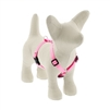 "Lupine Solid 1/2"" Pink 12-20"" Roman Harness"