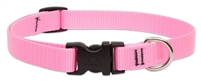 "Lupine 3/4"" Pink 9-14"" Adjustable Collar"