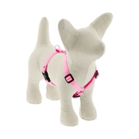 "Lupine Solid 1/2"" Pink 9-14"" Roman Harness"