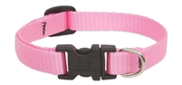 Lupine Solid Pink Safety Cat Collar
