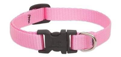 LupinePet Solid Pink Safety Cat Collar