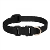 "Lupine 1/2"" Black 10-16"" Adjustable Collar"