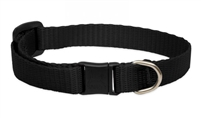 Lupine Solid Black Cat Safety Collar