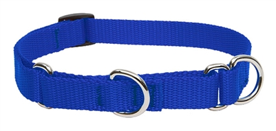 "Lupine 3/4"" Blue 10-14"" Martingale Training Collar"