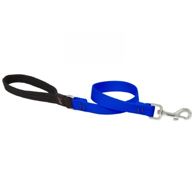 "Lupine Solid 3/4"" Blue 2' Traffic Lead"