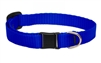 "Lupine 1/2"" Blue Cat Safety Collar"