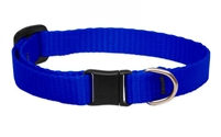 Lupine Solid Blue Safety Cat Collar