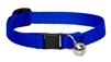 "Lupine 1/2"" Blue Cat Safety Collar with Bell"