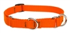 "Lupine 3/4"" Blaze Orange 19-27"" Martingale Training Collar"