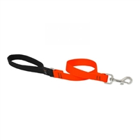 "Lupine Solid 3/4"" Blaze Orange 2' Traffic Lead"
