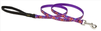"Retired Lupine 1/2"" Spring Fling 4' Padded Handle Leash"