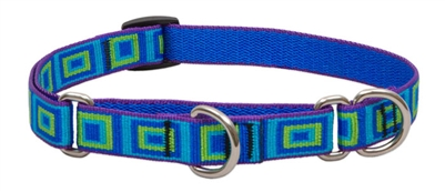 "Lupine 3/4"" Sea Glass 10-14"" Martingale Training Collar"