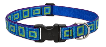 "Lupine Originals 1"" Sea Glass 16-28"" Adjustable Collar for Medium and Larger Dogs"