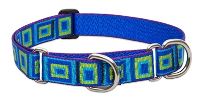 "Lupine 1"" Sea Glass 19-27"" Martingale Training Collar"