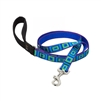 "Lupine 3/4"" Sea Glass 4' Padded Handle Leash"
