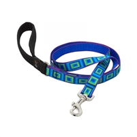 "Lupine 3/4"" Sea Glass 6' Padded Handle Leash"