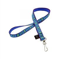 "LupinePet Original Design 1/2"" Sea Glass Lanyard"