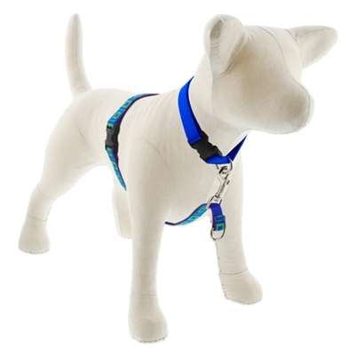 "Lupine Sea Glass 16-26"" No-Pull Harness - Medium Dog"