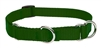 "Lupine Solid 3/4"" Green 14-20"" Martingale Training Collar"