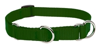"Lupine 3/4"" Green 14-20"" Martingale Training Collar"